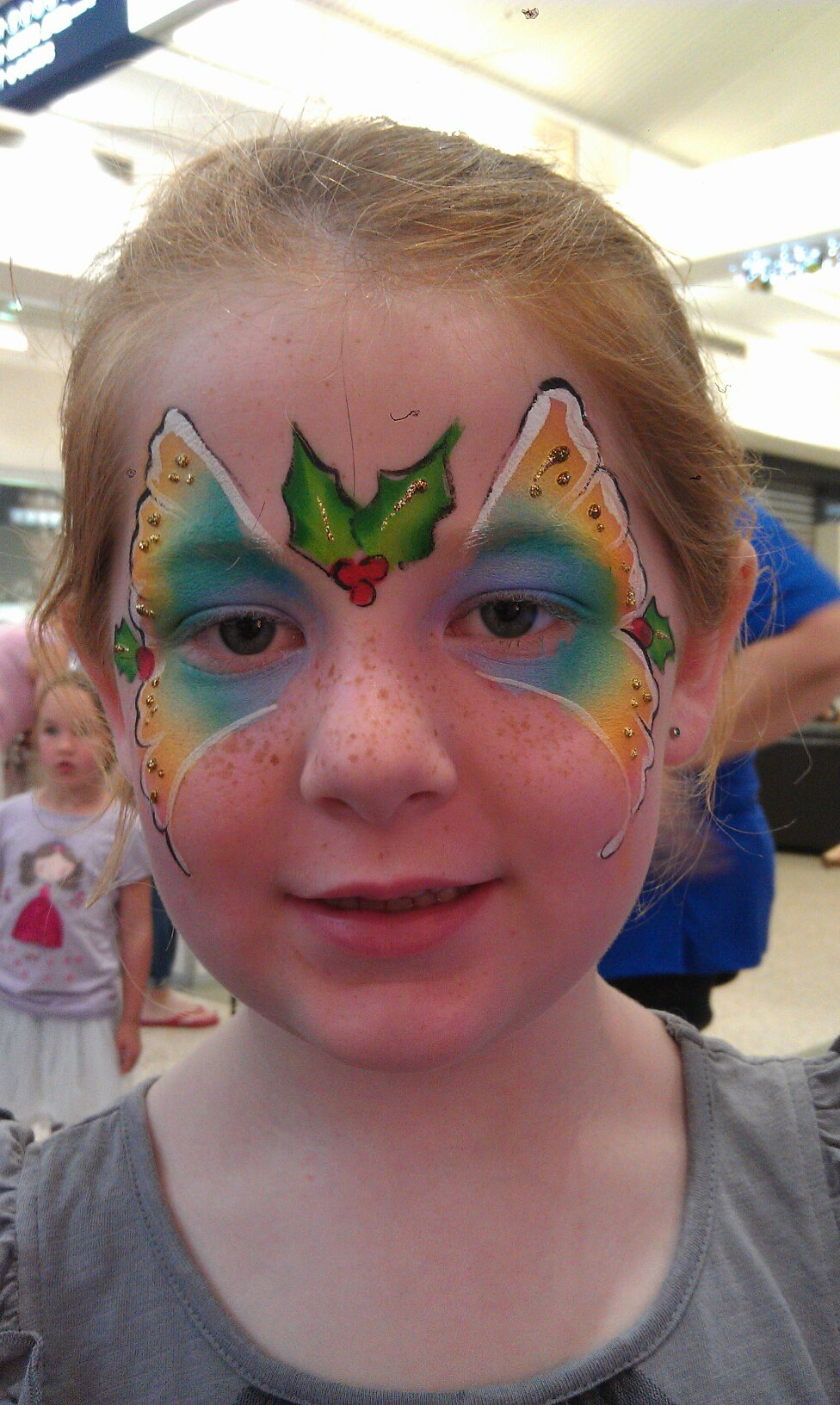 christmas corporate face paint event gold coast