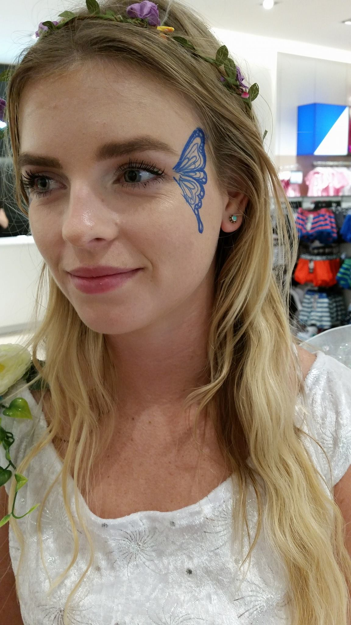 fairy face paint gold coast