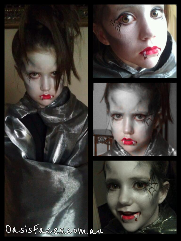 vampire dress up face paint gold coast